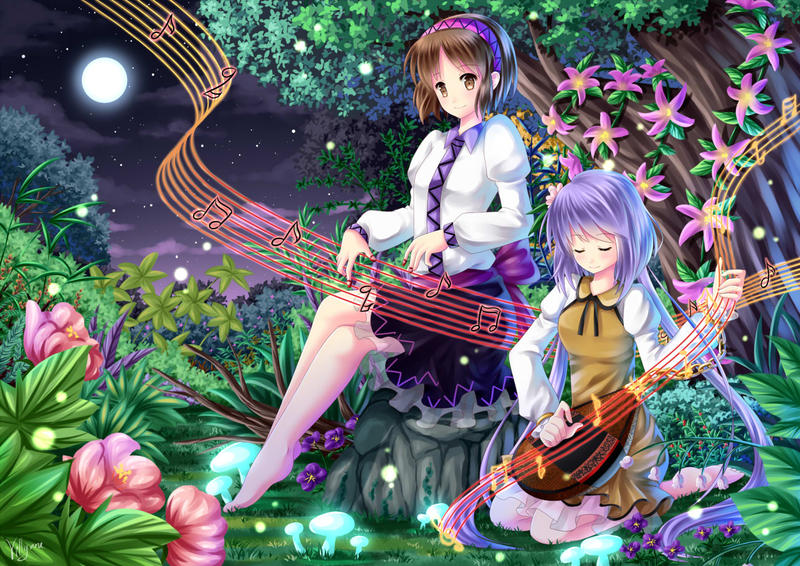 Night melody by Villyane