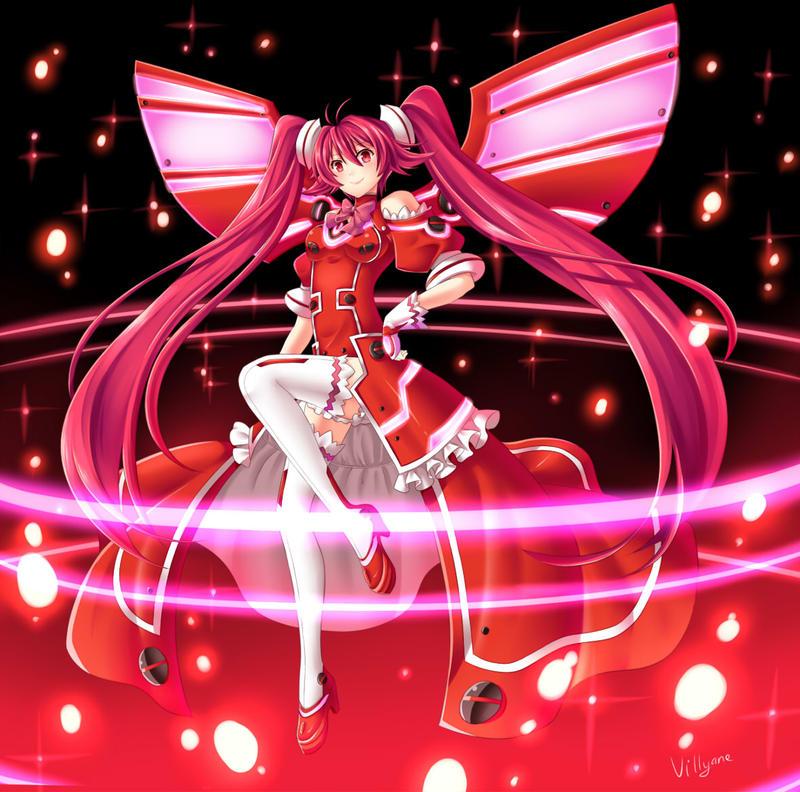 Vivid Red by Villyane