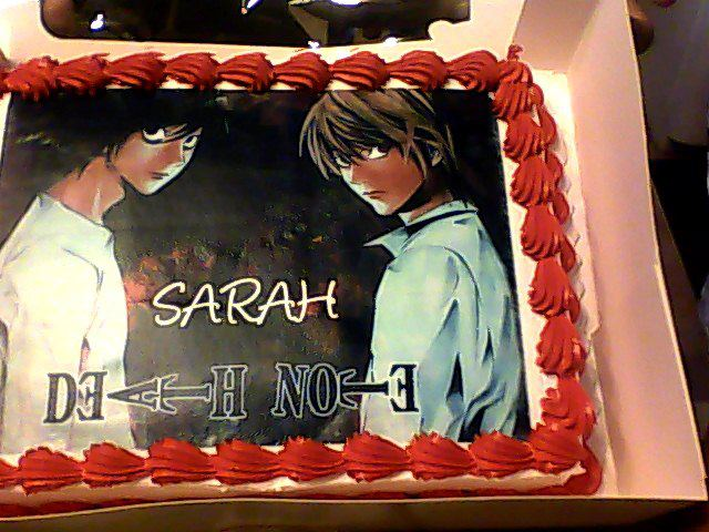 Deathnote cake by Redice1717 on DeviantArt