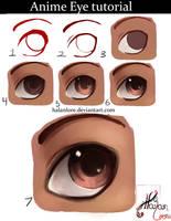 Let's Draw an Anime Eye! by HalanLore
