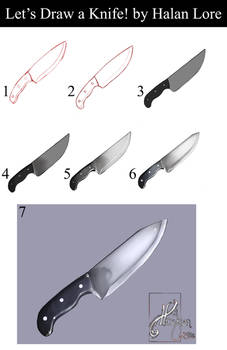 Let's Draw a Knife!