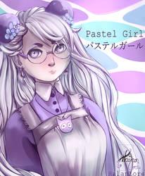 Pastel Girl by HalanLore