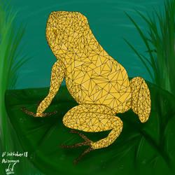 Rana dardo dorado, Dia 1, inktober, poisonous (Co)