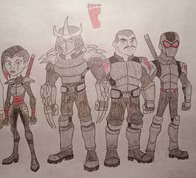 TMNT Group 3 (The Foot Clan)