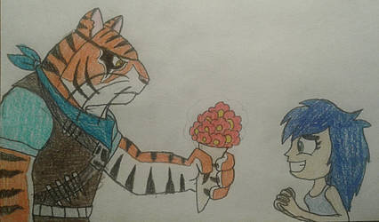 Flowers from Tiger Claw by jebens1