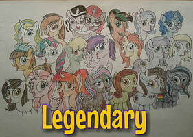 Legendary Pegasisters by jebens1
