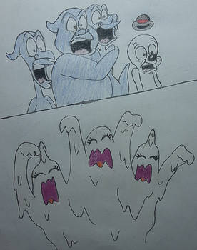 Scaring The Ghosts