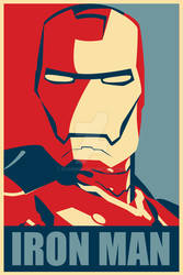 Iron Man Hope Poster Mark 1