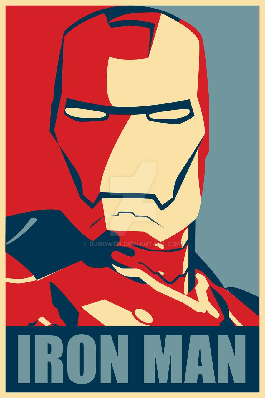 Iron Man Hope Poster Mark 1 by djbowen