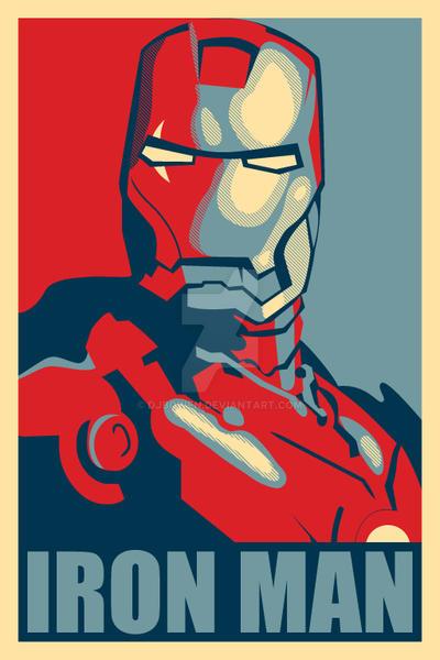 Iron Man Hope Poster Mark 2 by djbowen