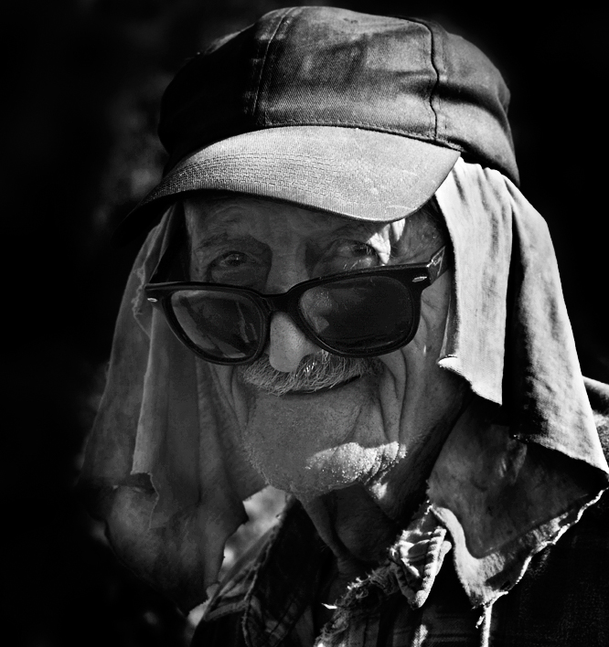 the smiling centenarian by VaggelisFragiadakis