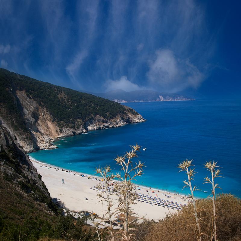 Myrtos Beach in Myrtos