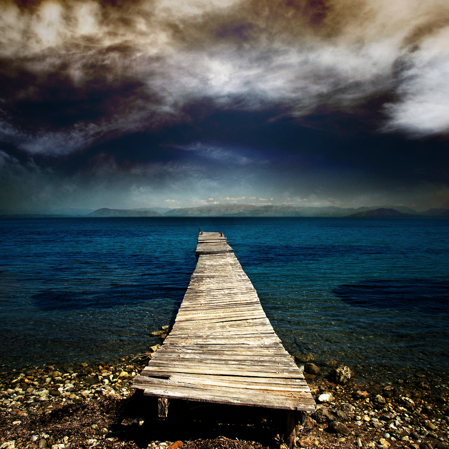the moody pier.... by VaggelisFragiadakis