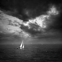 sailing the open sea.... by VaggelisFragiadakis