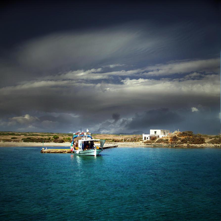 the litle harbor.... by VaggelisFragiadakis