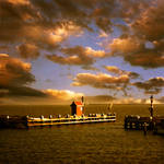 the harbor.....