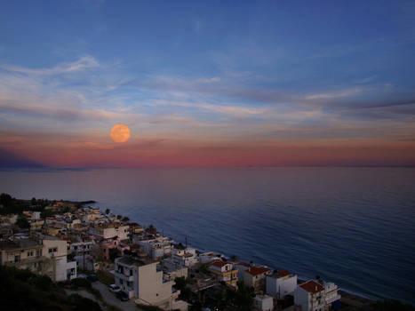 May moon....