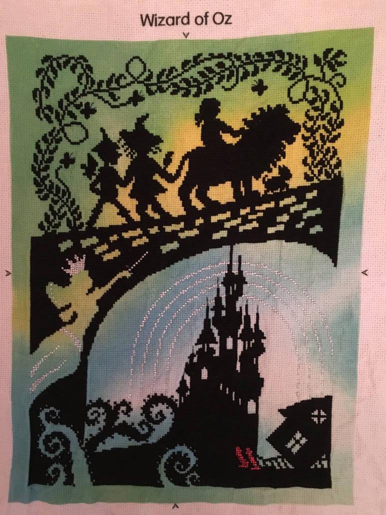 Wizard of Oz Cross Stitch by velvet-curse