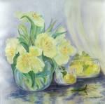 Still life in yellow