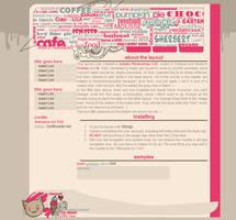 c a f e. web-template by Shorai-san