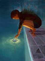 The Purifying Lotus by Shorai-san