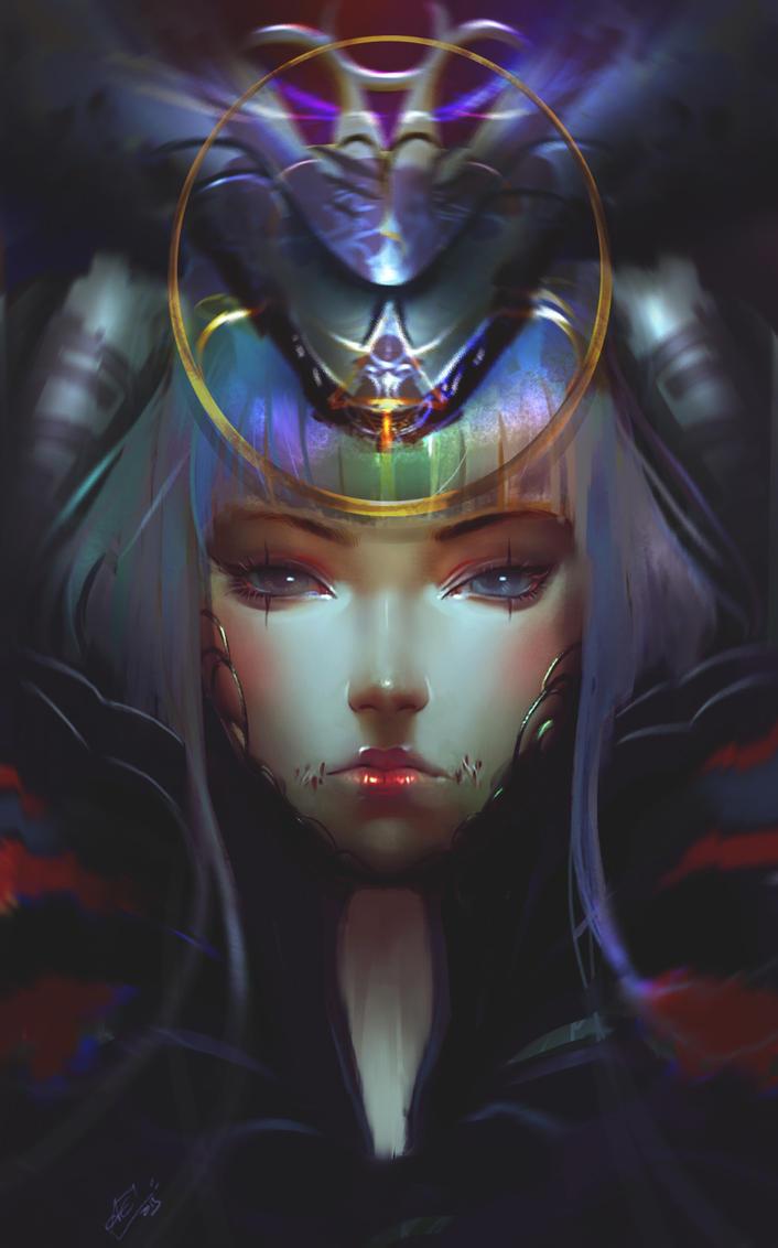 Witch by Aechanart