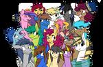 Pastel ponies