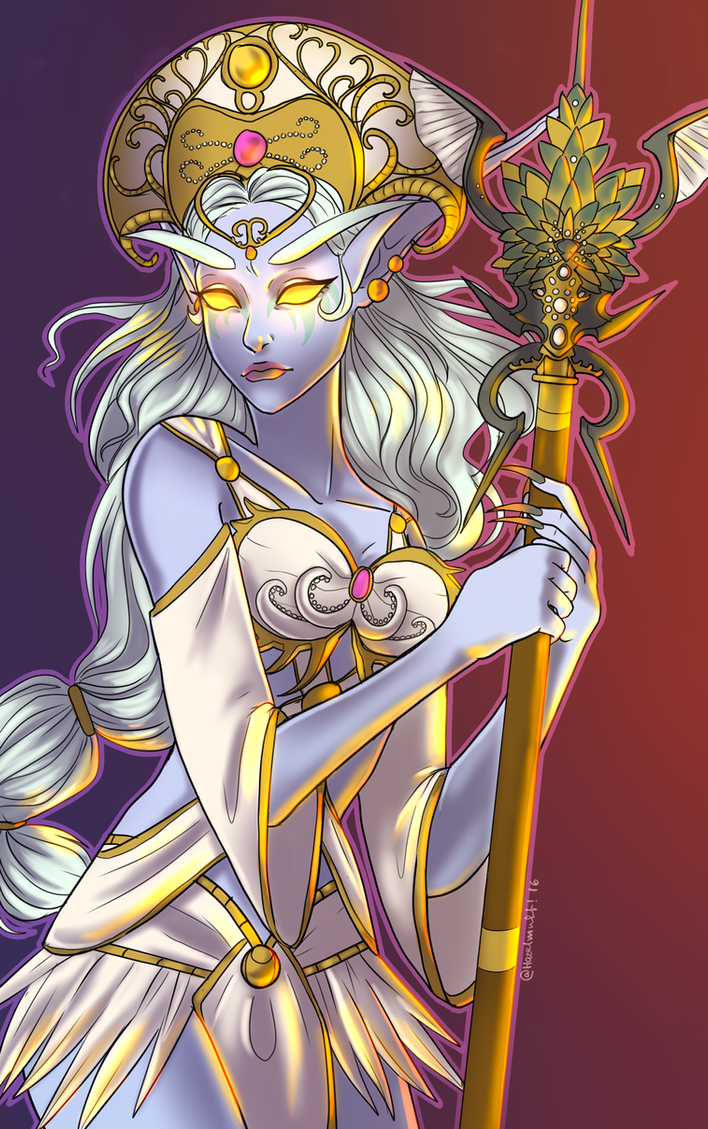 Queen Azshara by Hazelmutt