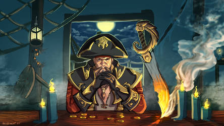 Don't mess with Gangplank. by Hazelmutt