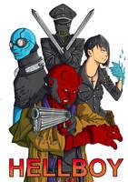 Hellboy by ShinigamiRyuku