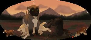 Hunting Oopies || Felvargs