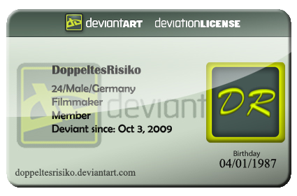 deviantART ID CARD 20 by DoppeltesRisiko on DeviantArt – Id Card Psd Template