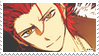 Mikoto Suoh - stamp by Lilly225