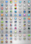 OS X icons