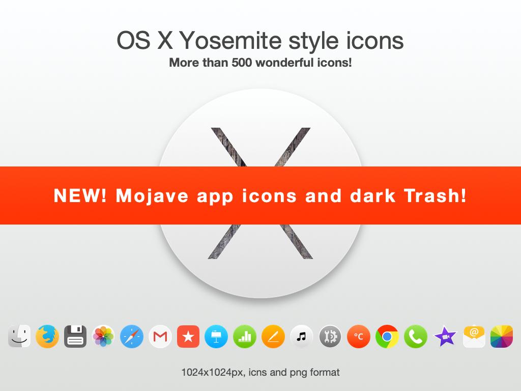 OSX Yosemite style icons by TigerCat-hu on DeviantArt