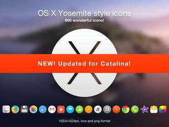 OSX Yosemite style icons