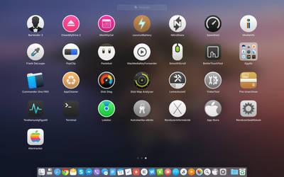 OSX Yosemite style icons on macOS Catalina #3