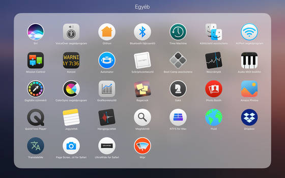 OSX Yosemite style icons on macOS Catalina #4