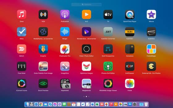 Big Sur icons preview #2
