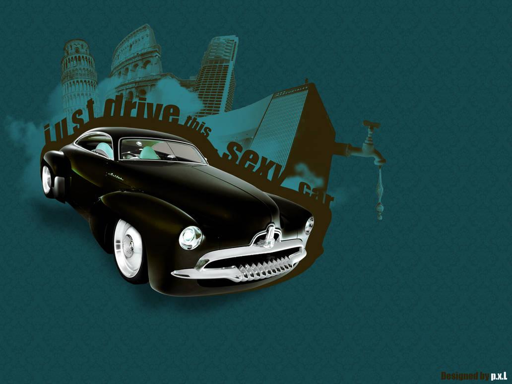 Retro Car Wallpaper by BlakeCeeno