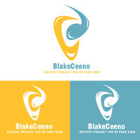 BlakeCeeno Logotype Colored by BlakeCeeno