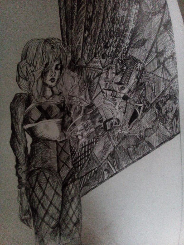 cybergirl by Bigblackblade