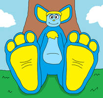 Billy's Biggle Feet Tease