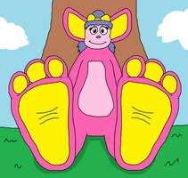 Ruby's Biggle Feet Tease