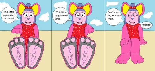 Ruby Biggle's Barefootin' Scene