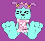 Daizy's Feet Tease