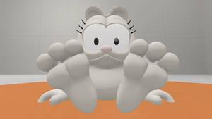 Garfield Show S1e9 Garfield Feet By Giuseppedirosso On Deviantart