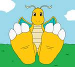 Dragonite's Feet Tease (No Wrinkles)