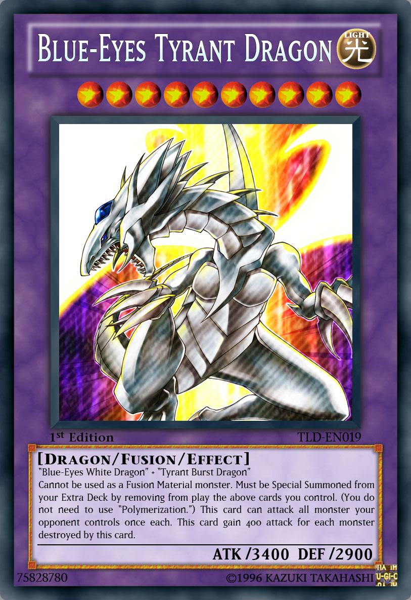 blue eyes tyrant dragon by jam4077 on deviantart