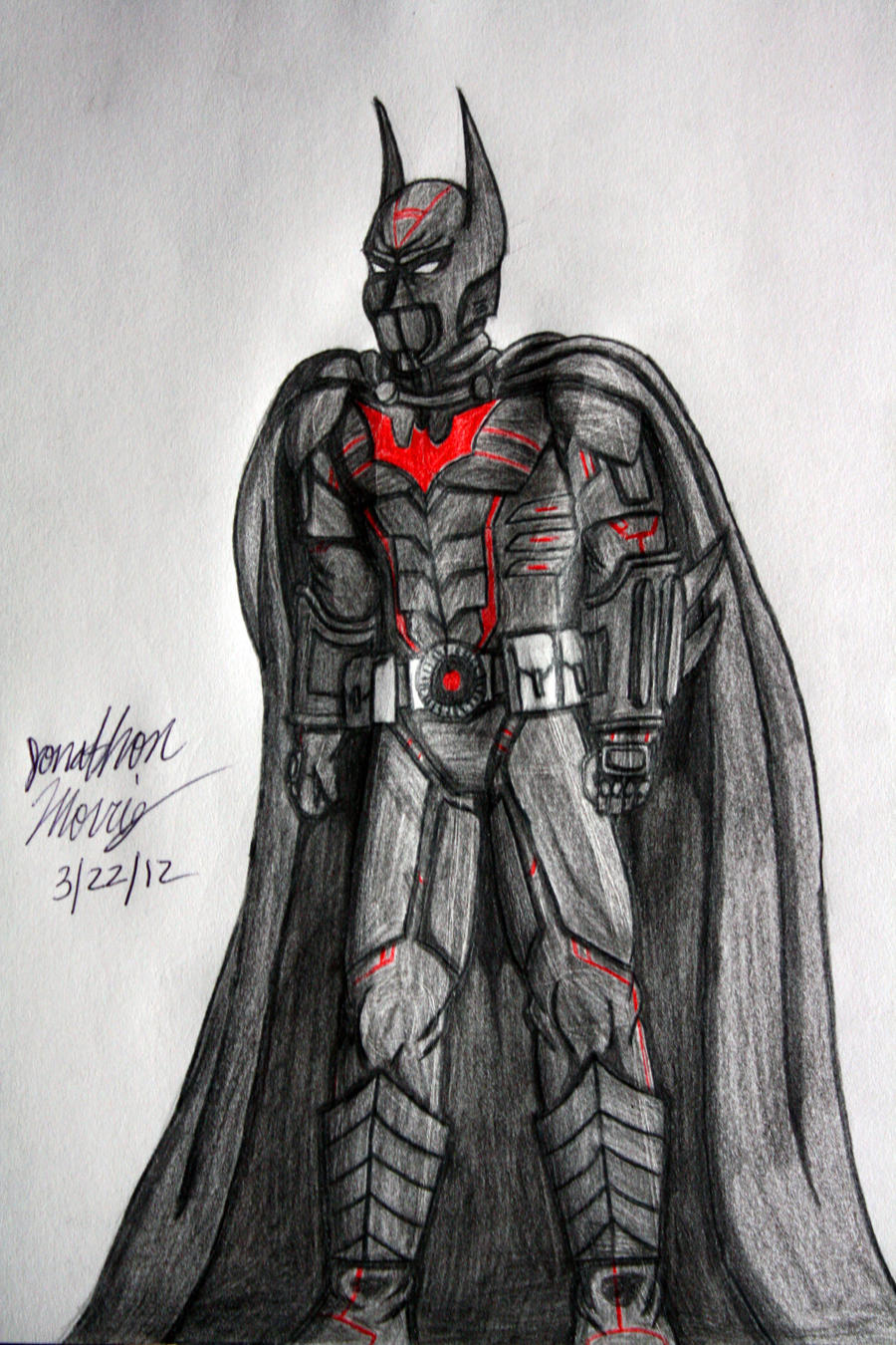 Batman Beyond - Suit 2 by JAM4077 on DeviantArt
